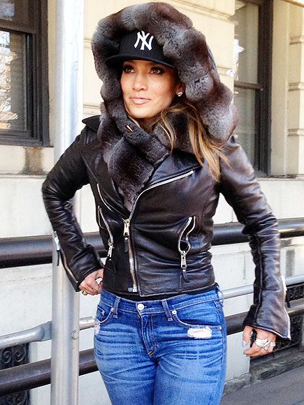 Star Tracks: Monday, January 13, 2014 | CITY STYLE | Warm enough, Jen? Lopez stays weather-appropriate in her own way on Sunday, bundling up in a leather jacket and furry hood for a stroll through New York City's Central Park.