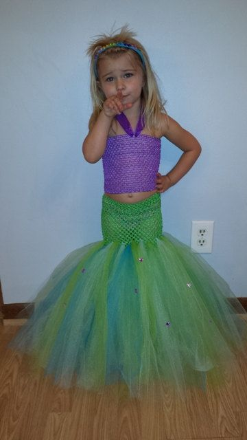 Little mermaid outfit