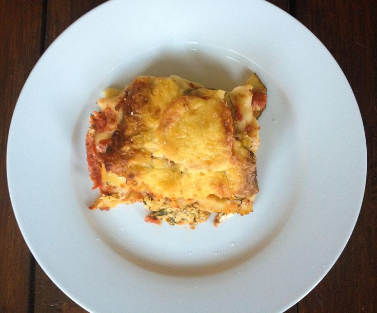 Vegetarische lasagne à la Sandra