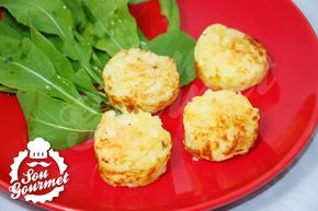 Mini Batatas Rostie na Máquina de Cupcakes ou de Brownies | Sou Gourmet