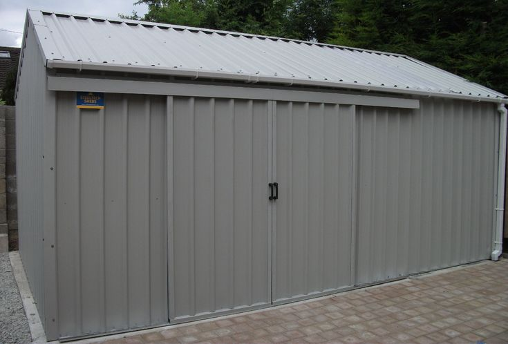 Steeltech Steel Sheds are UK's largest supplier of steel sheds. We can manufacture any type of steel shed depending on your requirements. We have many different styles of steel shed. All steel sheds can be viewed in our showrooms nationwide.