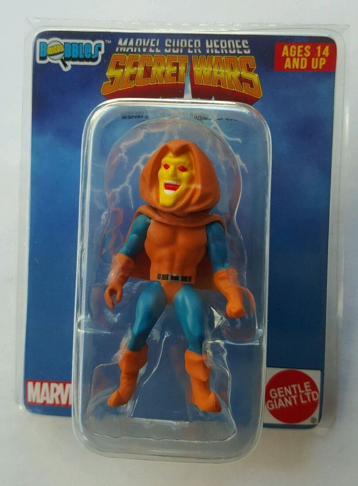 HOBGOBLIN MARVEL SUPER HEROES SECRET WARS MINI BOBBLE HEAD WALGREENS SPIDERMAN