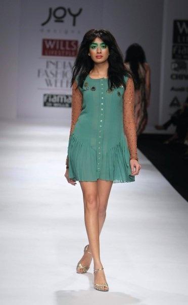 """Wills Lifestyle India Fashion Week SS 2010"" Day 3 by Joy Mitra #Fashion #WillsLifestyle"