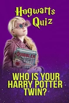 Hogwarts Quiz: Who Is Your Harry Potter Twin? | Grace
