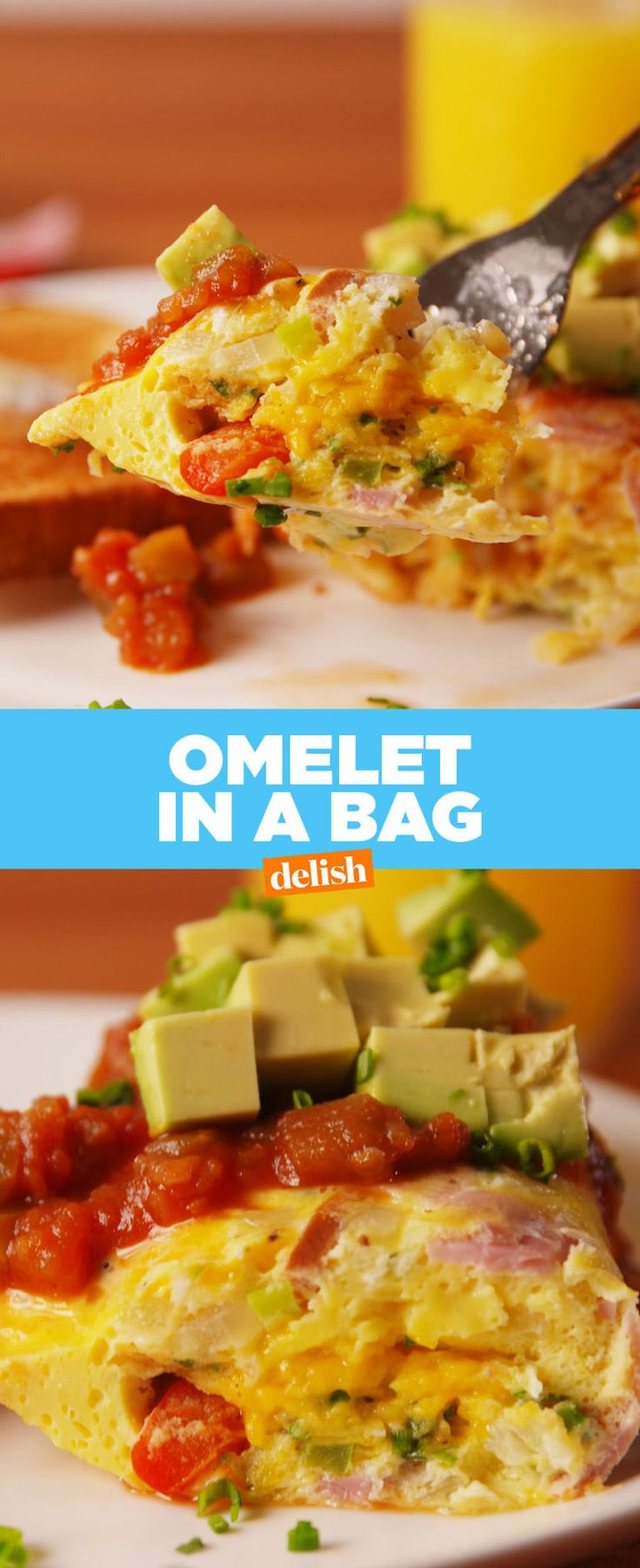 PSA: A Plastic Bag Is the Secret to a Perfect Omelet
