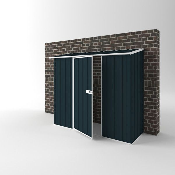 Compact Garden Shed   Attached off the wall design to suit your home.