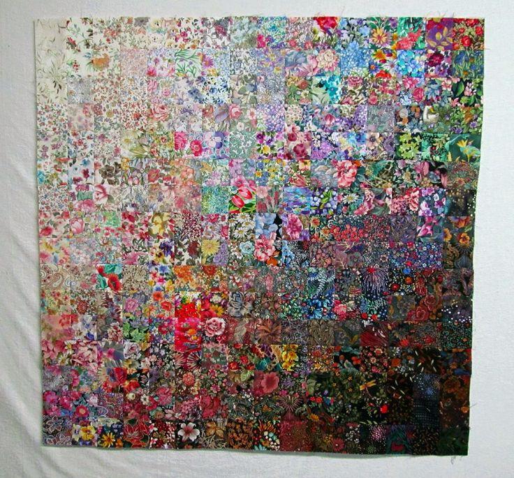 Book Cover Watercolor Quilt : Sewn exuberant color fibre art pinterest