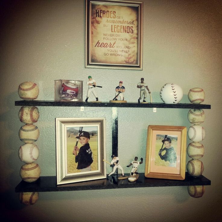 Baseball Shelf Awesome Job