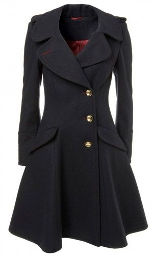 Sherlock's trench for women. YES, PLEASE