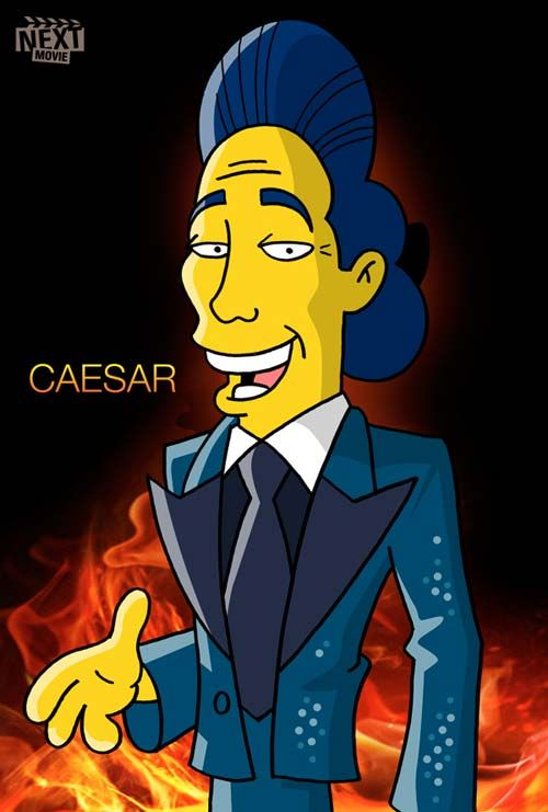 The Simpsons as Hunger Games Characters