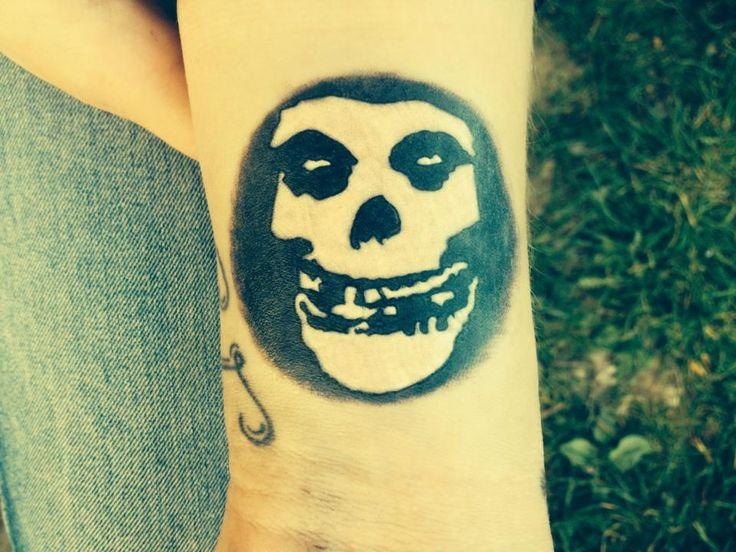 misfits skull danzig tattoo