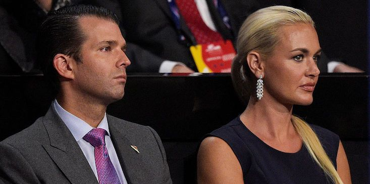 Who Is Donald Trump Jr.'s Wife? Vanessa Haydon Was A Model