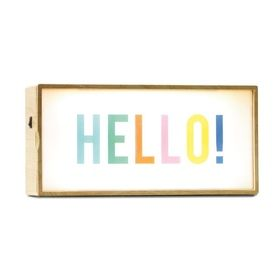 Light Box with Interchangeable Slides