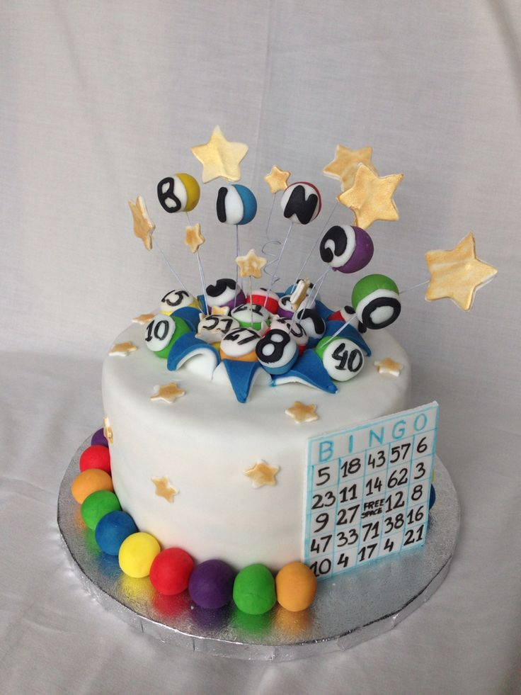 20 Best Bingo Themed Cakes Images On Pinterest Bingo