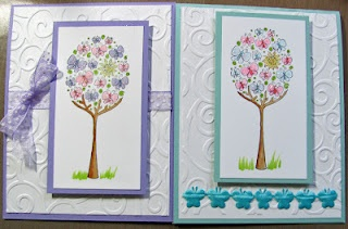 Not sure of the stamp name...maybe Butterfly Tree?  It's from Impression Obsession stamps.