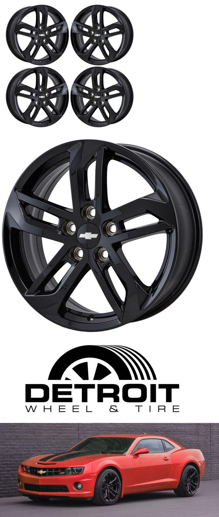 Auto parts general 18 chevrolet equinox black wheels rims factory oem set 4 2017