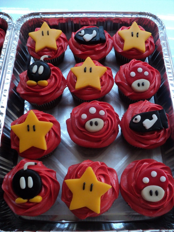 25 Best Ideas About Super Mario Cupcakes On Pinterest