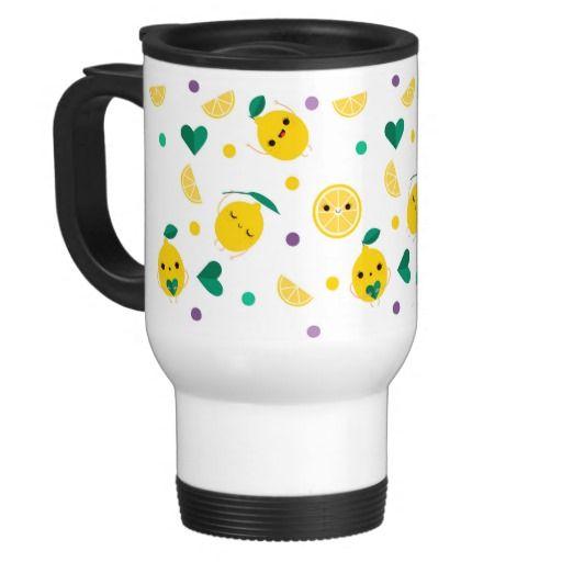 Oh lala lemon - Travel Mug