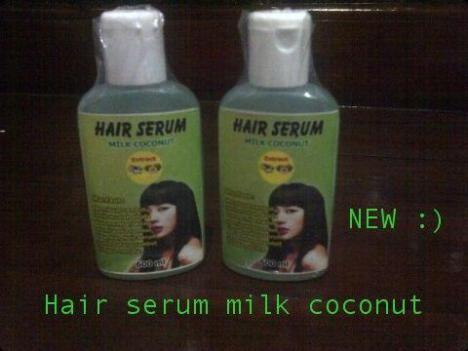 Mau punya rambut indah dan mempesona? Rambut indah alami bebas dari masalah Rambut Rontok, Ketombe dan Rambut kasar? HAIR SERUM MILK COCONUT . diperkaya bahan2 alami untuk keindahan rambut anda menjadi mengkilat sehat dan mudah ditata no more bad hair day kunjungi kami di http://warungkosmetik.wordpress.com/2013/09/28/perawatan-rambut-hair-serum-milk-coconut/
