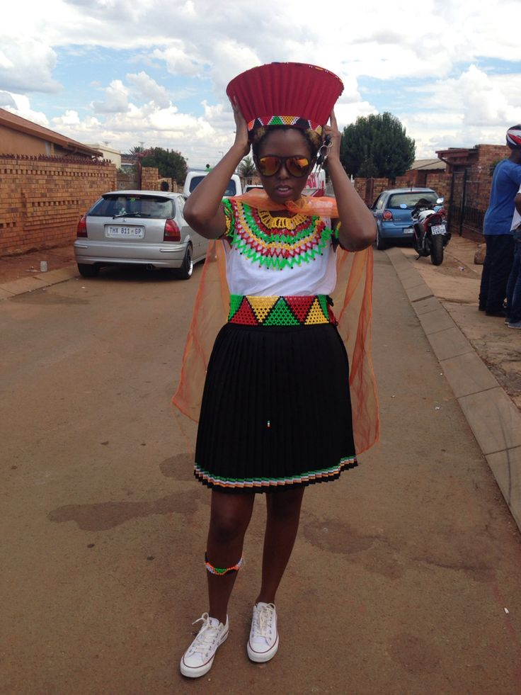 Traditional wedding outfit...Zulu girl for 1 day only