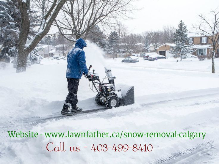If you are seeking for the affordable snow removal contractors in Calgary. Call lawnfather 403-499-8410 and pre-book the snow removal services for the winters at the discounted price.