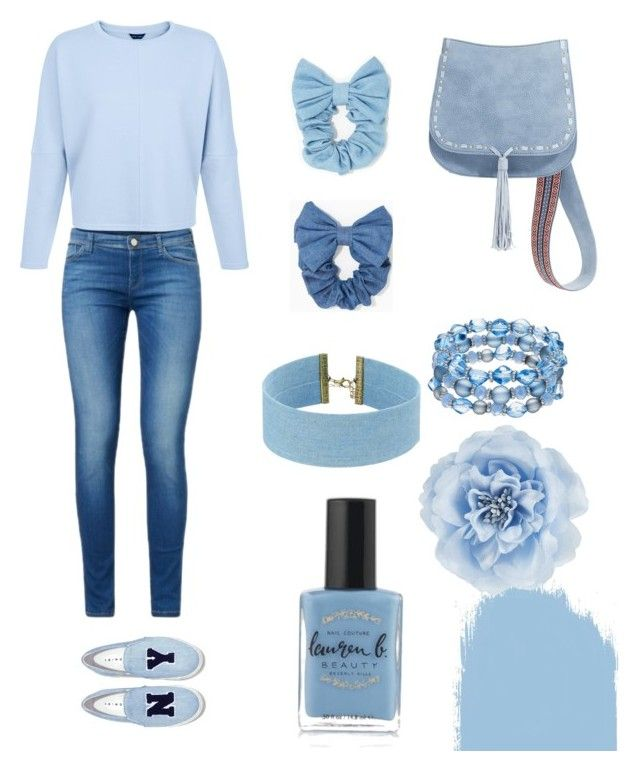 """""""Untitled #7"""" by pacaca-gemela on Polyvore featuring Joshua's, Steve Madden, Lauren B. Beauty and Monsoon"""