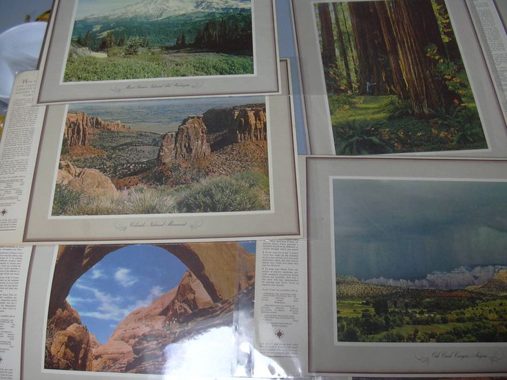 "Large Lot of 113 ""See Your West"" Photographic Prints and Several Album Covers Standard Oil Collectible Petroliana by CanemahStudios on Etsy"
