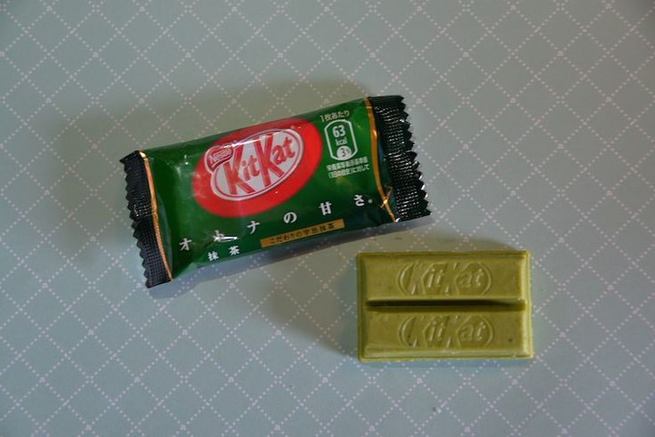 Kit Kat japonês de Chá Verde