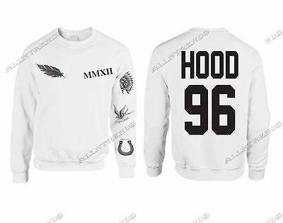 Calum Hood Sweatshirt Tattoos 5 Seconds Of Summer 96 Hood - ALLNTRENDSHOP