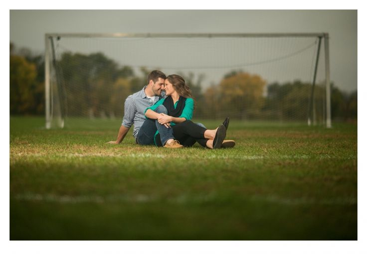 Soccer engagement session by ZTS Photo Des Moines, Iowa http://www.ztsphoto.com