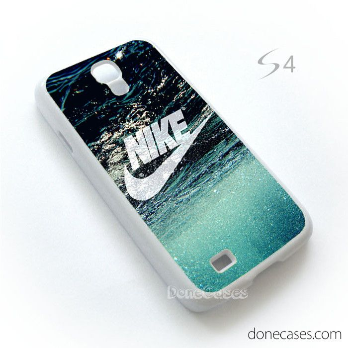 nike ocean case for Samsung Galaxy S4 Case by DoneCases - Made From durable Plastic - Processed handmade - Image protected with clear coated layer. - Protect your phone from dust and scratch. - Glossy
