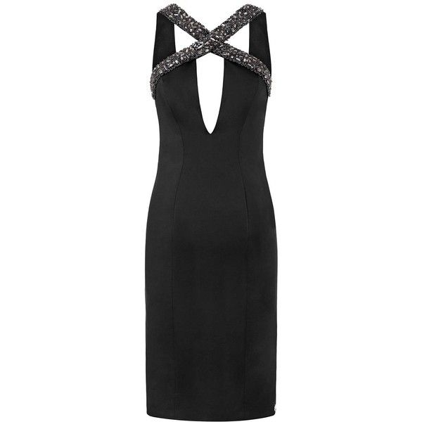 Aloura London - Estelle Dress Black (257 AUD) ❤ liked on Polyvore featuring dresses, sexy going out dresses, sequin embellished dress, sequin dress, sexy party dresses and cocktail party dress
