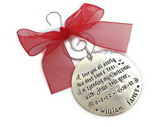 Christmas Ornaments For Lost Loved Ones