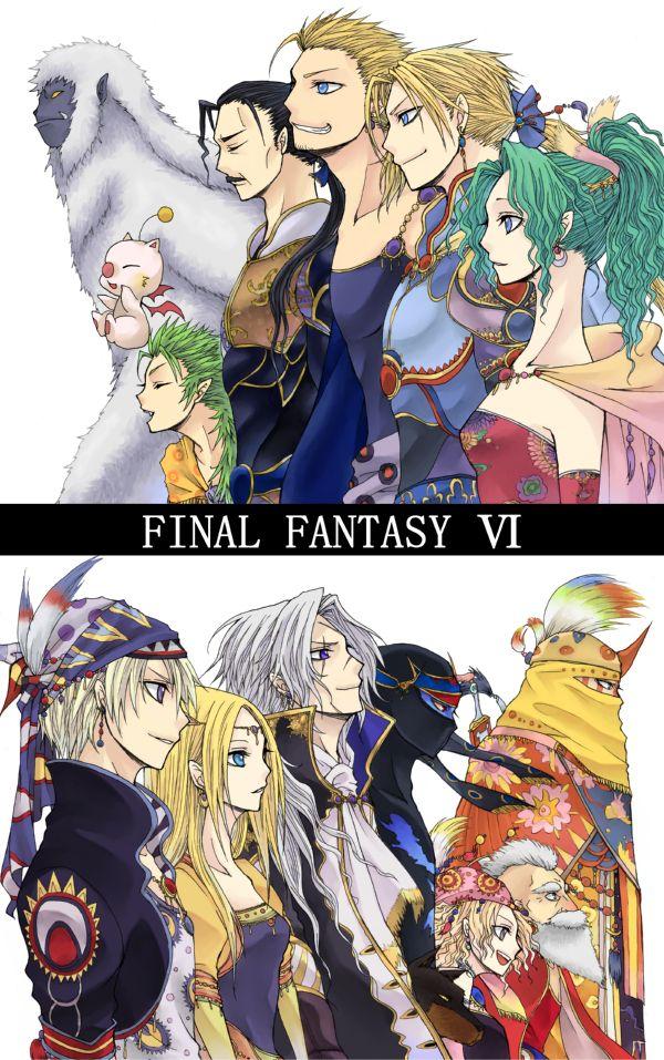 Final fantasy 6 line up
