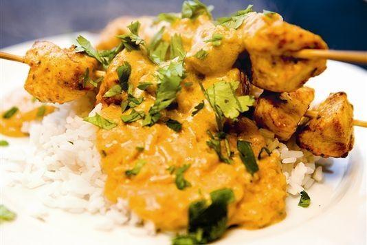 Perfect Satay Chicken
