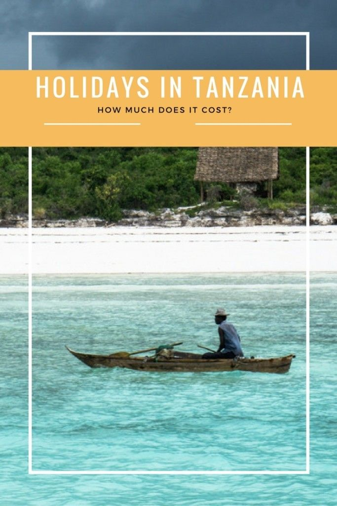The cost of holidays in Tanzania: safari, diving and cultural sightseeing.