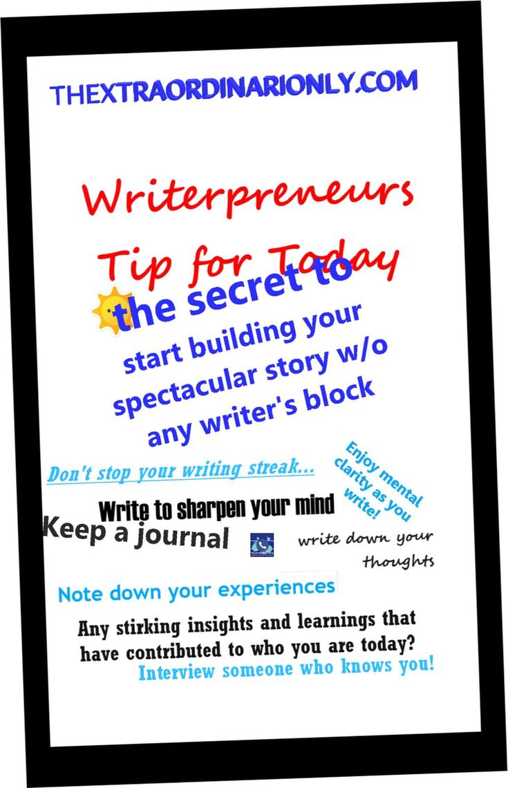 Writerpreneurship for great content to draw readers   TheExtraordinariOnly   Indie author, Book blog, Self publishing