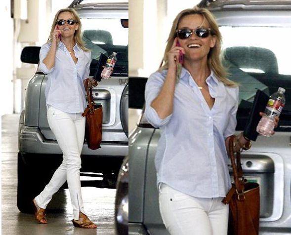 reese witherspoon style - good summer outfit
