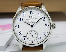 IWC Portuguese F.A Jones Limited Edition SS IW544203 Box & Papers!