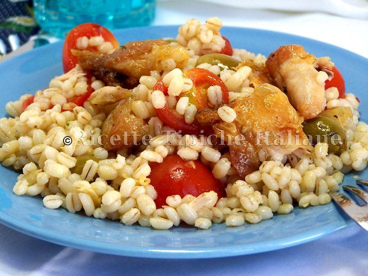 ricette_tipiche_italiane_Insalata di orzo e pollo