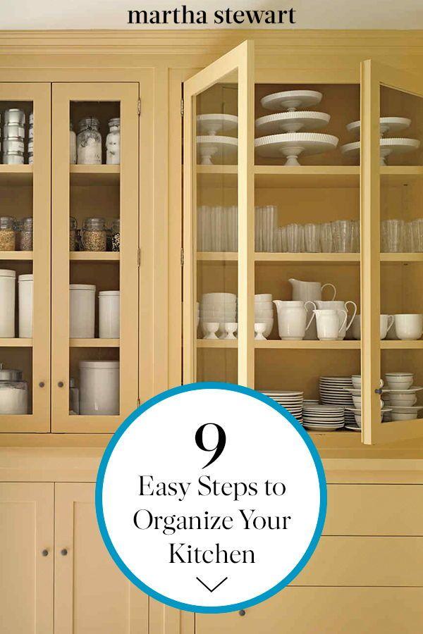 Organize Your Kitchen Cabinets In Nine Easy Steps Kitchen Hacks
