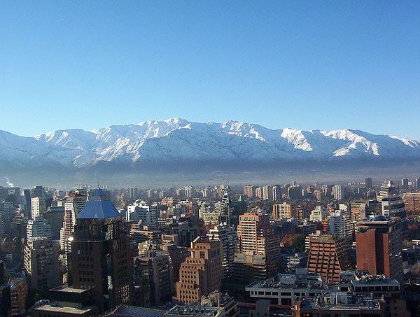 Santiago es la ciudad capital de Chile. La ciudad tiene 472 años, y se hizo en 1541. Los Andes montañas están muy cerca a Santiago, y hace un problema de fumar en el invierno. Pero, la ciudad es muy bonita y fantastica.