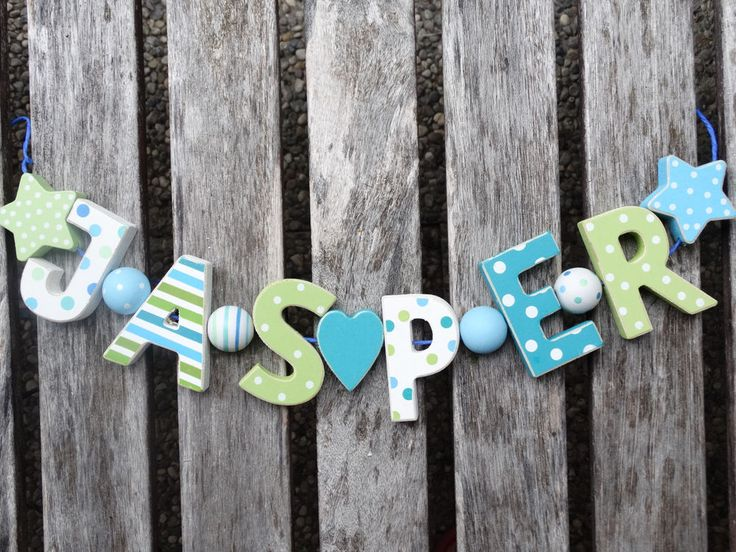 details about jasper wooden letters letter door name baby shower decoration shabby chic