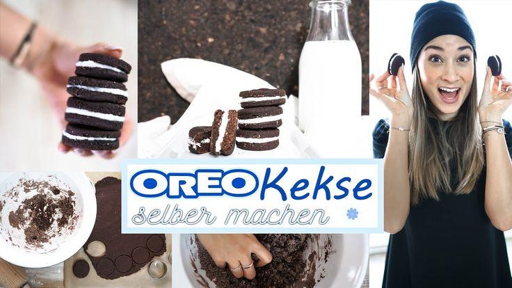 Oreo Kekse selber machen - gesundes Rezept ohne Zucker & Butter - vegan ...