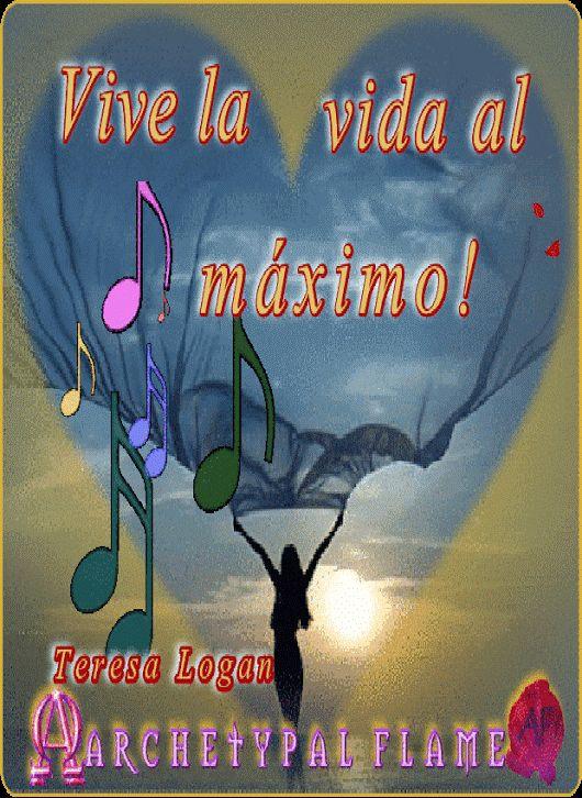 Vive la vida al máximo!  Ζήσε τη ζωή στο έπακρο  Αγάπη και Φως  Live life to it's fullest. Teresa Logan  Love and Light♡ ☯ ∞ ☼  Agape ke Fos♡ ☯ ∞ ☼    Vivez la vie au maximum  Amour et Lumière  Lebe dein Leben in vollen Zügen  Liebe und Licht♡ ☯ ∞ ☼  充実した人生を送る  ・ラヴ ライト ♡ ☯ ∞ ☼  ・ラヴ ライト  #love #light #agape #fos #amor #luz #amour #lumiere #liefde #licht #liebe #amore #luce #・ラヴ #ライト #αγάπη #φως #archetypal #flame #gifs #GIF