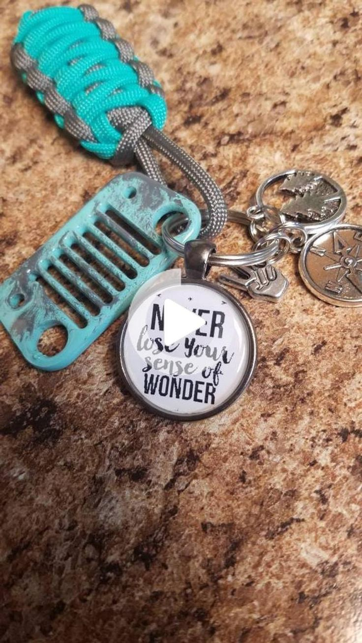Never lose your sense of wonder Jeep Grill Key Fob in 2020
