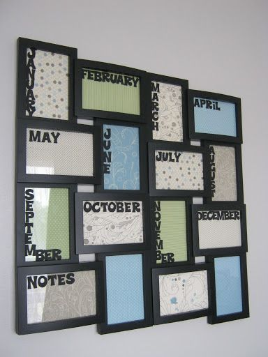 Birthday Calendar Ideas For Work : Birthday board i want to make one of these good ideas