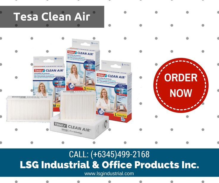 The tesa Clean Air fine dust filter for laser printers, fax machines and photocopiers ensures clean air in the office. Order yours now! Call: (045)499-2168 #tesa #cleanair #officeproducts #printing #copying #officesupplies#tesadistributor #lsgindustrial #clark #angelescity #distributor #pampanga #philippines