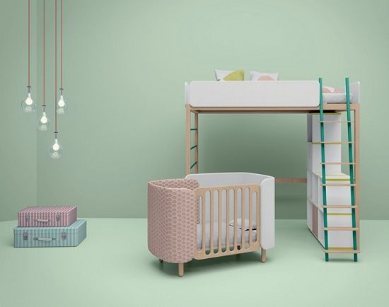Habitaciones compartidas - Habitaciones infantiles nina ...
