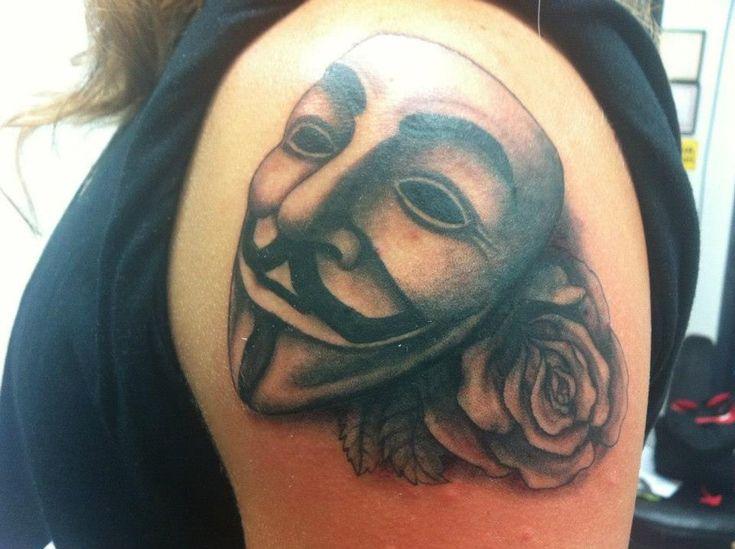 mask tattoo by sunnyshiba on DeviantArt